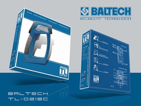 Дистанционный термометр, пирометр BALTECH TL, ThermaLine, бережливое производство