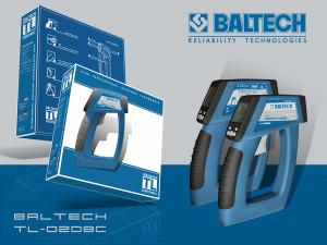 Наружный переносной термометр, измерительный инструмент «ThermaLine», BALTECH TL-0208C