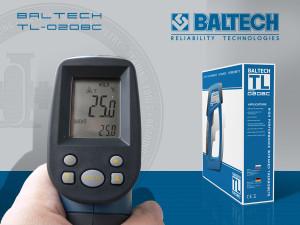 Лазерный термометр, BALTECH TL-0208C, ISO 18434-1, ISO 18436-7