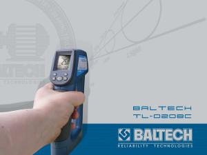 BALTECH TL-0208C, Пирометр для радиоэлектроники, тепловизоры, ик окна, ir windows