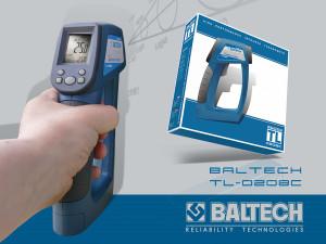 Цифровой термометр, пирометр, лазерный термометр, BALTECH TL-0208C