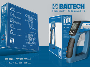 Лазерный термометр, пирометр BALTECH TL-0212C, измерение температуры