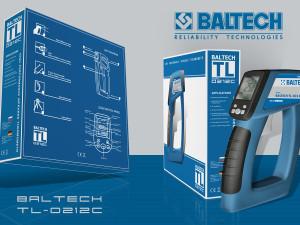Купить термометр, BALTECH TL-0212C, тепловизоры, пирометры, лазерные термометры
