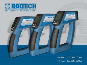 Инфракрасный термометр пирометр, применение пирометра в автосервисе BALTECH TL-0208C, ThermaLine