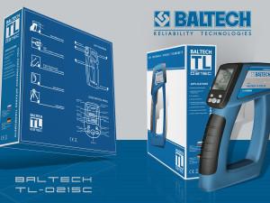 Как работает пирометр BALTECH TL-0215C, купить недорогой пирометр или тепловизор